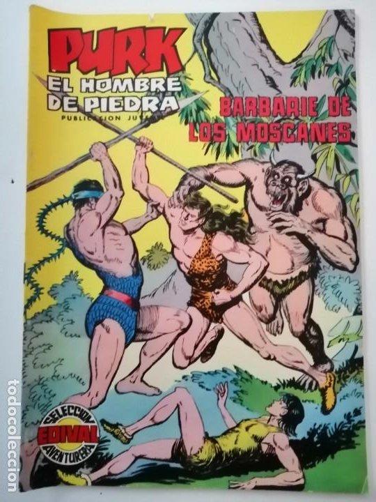 Tebeos: Lote 26 comics Purk el hombre de piedra.N° 2-5-8-10-12-13-15-16-24-29-30-35-44-47-55-59,del 61 al 70 - Foto 55 - 231958380