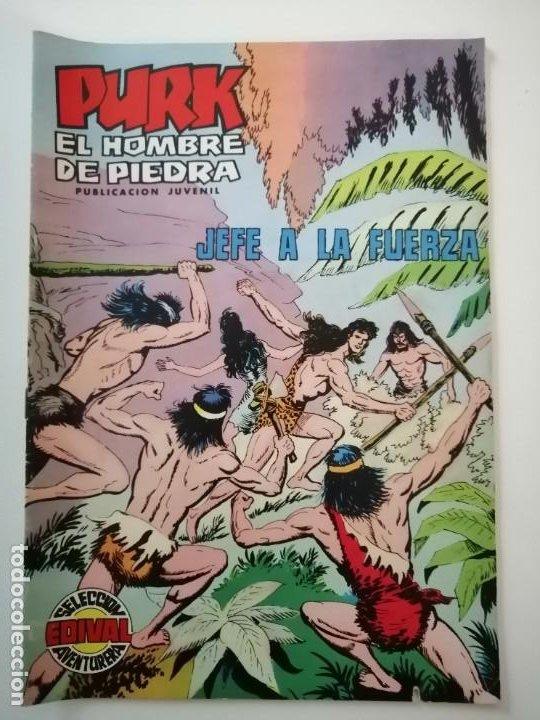 Tebeos: Lote 26 comics Purk el hombre de piedra.N° 2-5-8-10-12-13-15-16-24-29-30-35-44-47-55-59,del 61 al 70 - Foto 57 - 231958380
