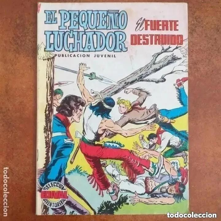 EL PEQUEÑO LUCHADOR - EL FUERTE DESTRUIDO. NUM 35 (Tebeos y Comics - Valenciana - Pequeño Luchador)