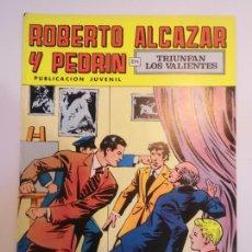 Livros de Banda Desenhada: ROBERTO ALCAZAR Y PEDRIN - NUM 126 SEGUNDA EPOCA - ED. VALENCIANA. Lote 232087585