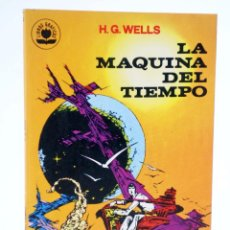 Tebeos: COLECCIÓN LIBROS GRÁFICOS 2. LA MÁQUINA DEL TIEMPO (H.G. WELLS / ALEX NIÑO) EDIPRINT, 1982. OFRT. Lote 236611205