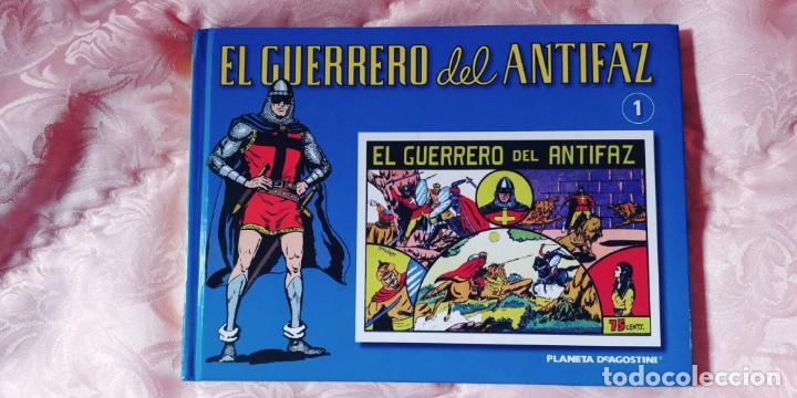 Tebeos: EL GUERRERO DEL ANTIFAZ-COMPLETA , 69 TOMOS-A ESTRENAR-PRECINTADOS TODOS MENOS NUMEROS 1-2 69 - Foto 2 - 232278930