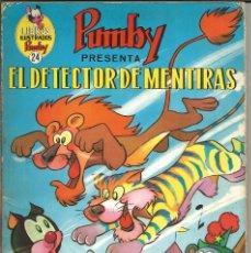Tebeos: LIBROS ILUSTRADOS PUMBY Nº 24 - EL DETECTOR DE MENTIRAS - VALENCIANA 1970. Lote 232875865