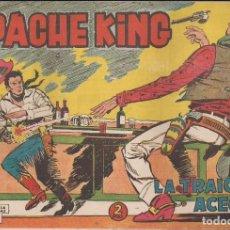 Tebeos: APACHE KING Nº 3: LA TRAICIÓN ACECHA. Lote 233700800