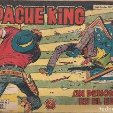 Tebeos: APACHE KING Nº 5: UN DEMONIO EN EL EDÉN. Lote 233701375