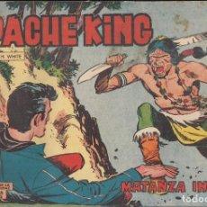 Tebeos: APACHE KING Nº 7: MATANZA INDIA. Lote 233701765