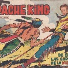 Tebeos: APACHE KING Nº 9: DE ENTRE LAS GARRAS DE LA MUERTE. Lote 233703185