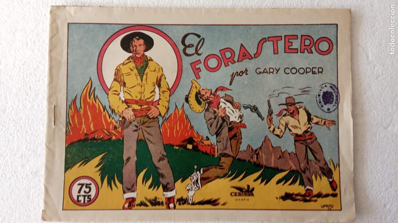 SELECCIÓN AVENTURERA ORIGINAL AÑOS 40 GARY COOPER - EL FORASTERO - LAFFOND (Tebeos y Comics - Valenciana - Selección Aventurera)