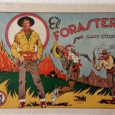 Tebeos: SELECCIÓN AVENTURERA ORIGINAL AÑOS 40 GARY COOPER - EL FORASTERO - LAFFOND. Lote 233762175