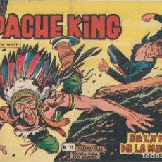 Tebeos: APACHE KING Nº 11: DE LA MANO DE LA MUERTE. Lote 233846780