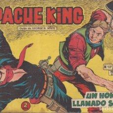 Tebeos: APACHE KING Nº 17: UN HOMBRE LLAMADO SMITH. Lote 233847985