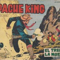 Tebeos: APACHE KING Nº 18: EL TREN DE LA MUERTE. Lote 233848180