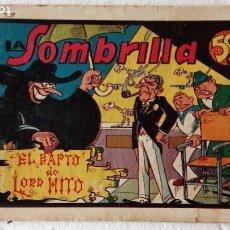 Tebeos: LA SOMBRILLA ORIGINAL Nº 3, EDI. VALENCIANA 1944. Lote 234003035