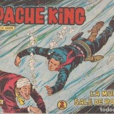 Tebeos: APACHE KING Nº 20: LA MUERTE SALE DE RONDA. Lote 234029205