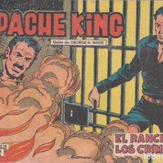 Tebeos: APACHE KING Nº 21: EL RANCHO DE LOS CRÍMENES. Lote 234029585