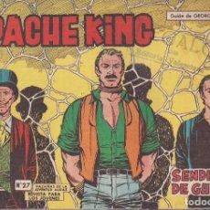 Tebeos: APACHE KING Nº 27: SENDEROS DE GUERRA. Lote 234030090