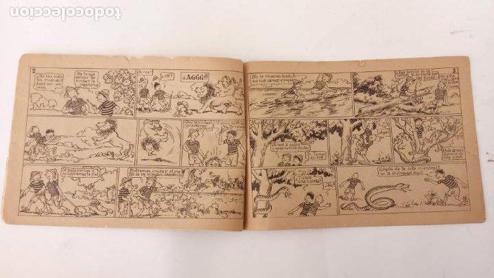 Tebeos: AVENTURAS DE JAIMITO Y PERIQUETE ORIGINAL Nº 13 Y ÚLTIMO - EDI. VALENCIANA 1943 - Foto 3 - 234490045