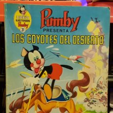 Tebeos: PUMBY - LOS COYOTES DEL DESIERTO. Lote 234545675