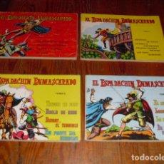 Tebeos: EL ESPADACHIN ENMASCARADO - 4 TOMOS. Lote 234708060