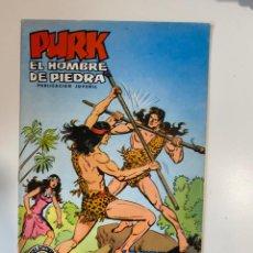 Tebeos: PURK. EL HOMBRE DE PIEDRA. LA VOZ DEL JUSTICIERO - Nº 20. EDITORA VALENCIANA.. Lote 234850105
