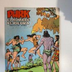 Tebeos: PURK. EL HOMBRE DE PIEDRA. FRENTE A LA MUERTE - Nº 17. EDITORA VALENCIANA.. Lote 234850350