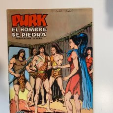 Tebeos: PURK. EL HOMBRE DE PIEDRA. ATILY, LA MUJER TERRIBLE - Nº 14. EDITORA VALENCIANA.. Lote 234850455