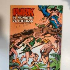 Tebeos: PURK. EL HOMBRE DE PIEDRA. TODOS CONTRA PURK - Nº 15. EDITORA VALENCIANA.. Lote 234851605