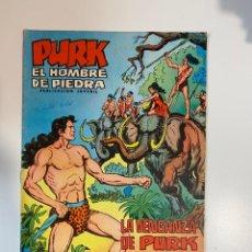Tebeos: PURK. EL HOMBRE DE PIEDRA. LA VENGANZA DE PURK - Nº 9. EDITORA VALENCIANA.. Lote 234852300