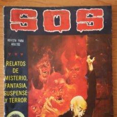 Tebeos: TEBEO COMICS SOS, RELATOS DE MISTERIO, FANTASÍA, SUSPENSE Y TERROR, Nº 16, SEGUNDA ÉPOCA, AÑO 1980. Lote 234852460