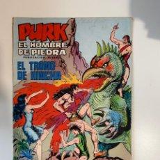 Tebeos: PURK. EL HOMBRE DE PIEDRA. EL TRONO DE HINCHA - Nº 71. EDITORA VALENCIANA.. Lote 234852555