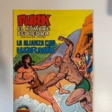 Tebeos: PURK. EL HOMBRE DE PIEDRA. LA ALIANZA CON HORMIK - Nº 31. EDITORA VALENCIANA.. Lote 234852680