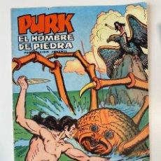 Tebeos: PURK. EL HOMBRE DE PIEDRA. LOS MONSTRUOS DEL MAR - Nº 8. EDITORA VALENCIANA.. Lote 234869860
