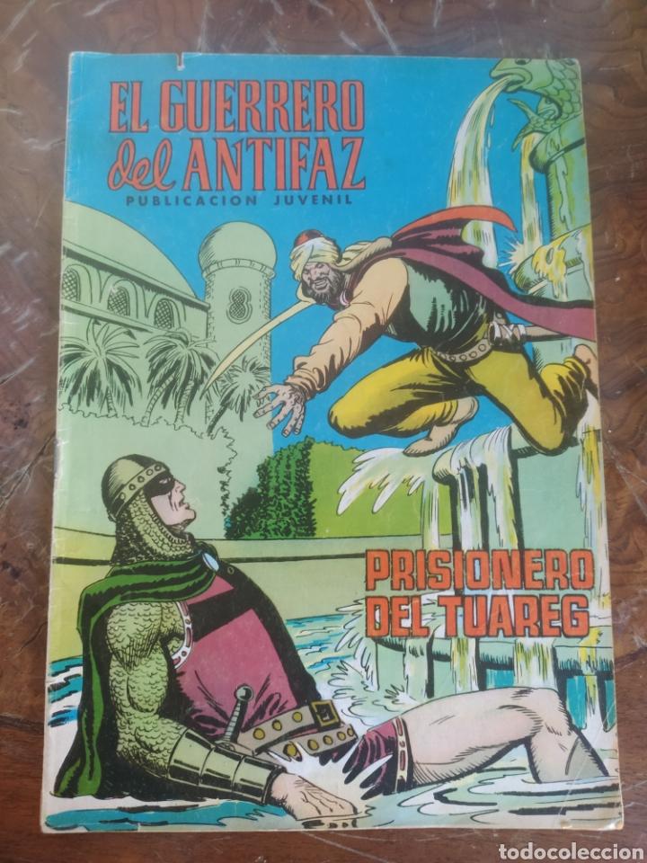 EL GUERRERO DEL ANTIFAZ PRISIONERO DE LOS TUAREG 142 VALENCIANA (Tebeos y Comics - Valenciana - Guerrero del Antifaz)