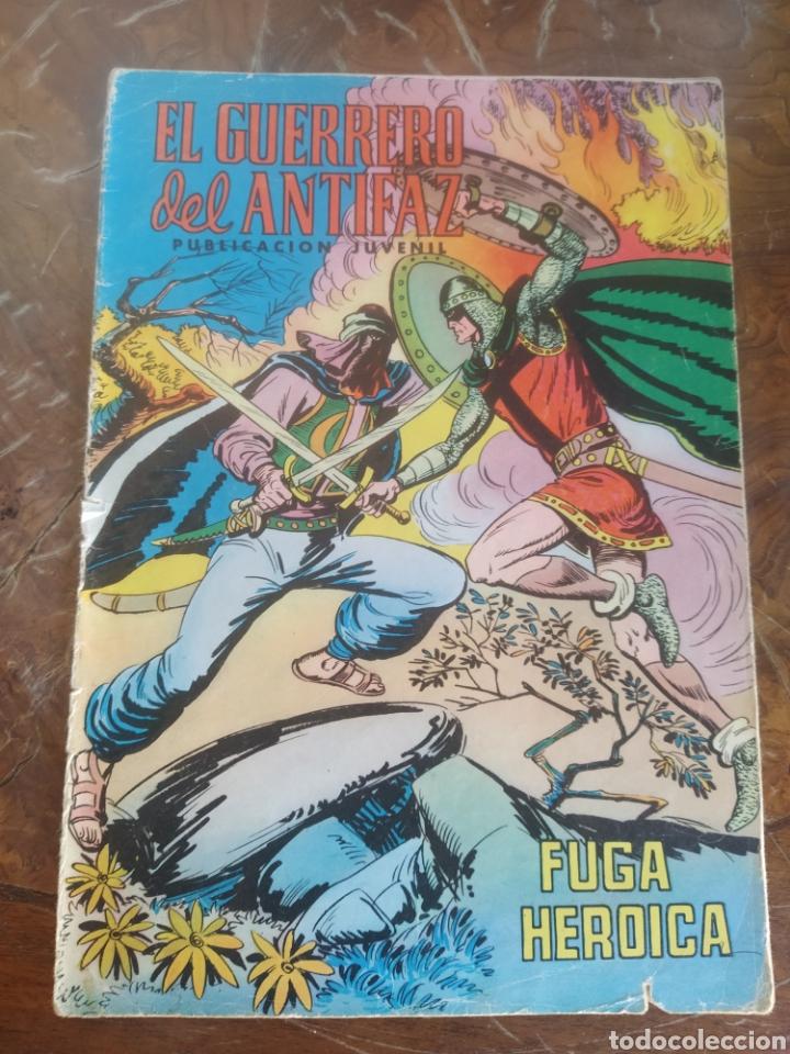 EL GUERRERO DEL ANTIFAZ FUGA HEROICA VALENCIANA 140 (Tebeos y Comics - Valenciana - Guerrero del Antifaz)