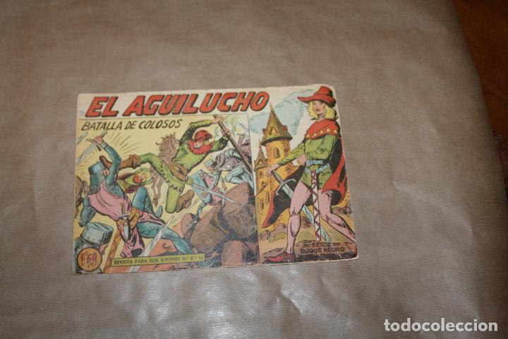 EL AGUILUCHO Nº 6, EDITORIAL MAGA (Tebeos y Comics - Valenciana - Otros)