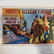 Tebeos: ROBERTO ALCAZAR Y PEDRIN. VIOLENCIA EN EL RANCHO 3-K - Nº 1094. EDIVAL. 1973. Lote 235267930