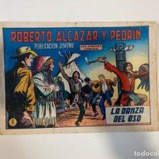 Tebeos: ROBERTO ALCAZAR Y PEDRIN. LA DANZA DEL OSO - Nº 903. EDIVAL. 1970. Lote 235268190