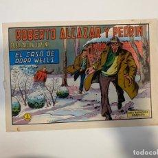 Tebeos: ROBERTO ALCAZAR Y PEDRIN. EL CASO DE DORA WELLS - Nº 1089. EDIVAL. 1973. Lote 235268590