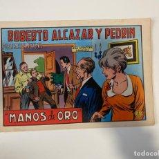 Tebeos: ROBERTO ALCAZAR Y PEDRIN. MANOS DE ORO - Nº 1090. EDIVAL. 1973. Lote 235269255