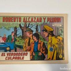 Tebeos: ROBERTO ALCAZAR Y PEDRIN. EL VERDADERO CULPABLE - Nº 1060. EDIVAL. 1973. Lote 235269440