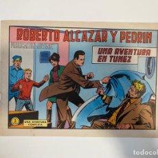 Tebeos: ROBERTO ALCAZAR Y PEDRIN. UNA AVENTURA EN TUNEZ - Nº 1080. EDIVAL. 1973. Lote 235270185