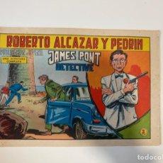 Tebeos: ROBERTO ALCAZAR Y PEDRIN. JAMES PONT DETECTIVE - Nº 872. EDITORA VALENCIANA. 1969. Lote 235270810