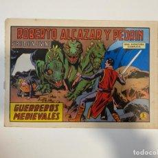 Tebeos: ROBERTO ALCAZAR Y PEDRIN. GUERREROS MEDIEVALES - Nº 1143. EDIVAL. 1974. Lote 235271275