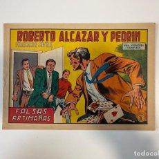 Tebeos: ROBERTO ALCAZAR Y PEDRIN. FALSAS ARTIMAÑAS - Nº 938. EDITORA VALENCIANA. 1970. Lote 235271625