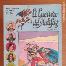 Tebeos: EL GUERRERO DEL ANTIFAZ Nº 20. 3ª ÉPOCA. VALENCIANA 1973. BUENO. Lote 235536280