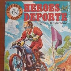 Tebeos: COLOSOS DEL COMIC Nº 4. HÉROES DEL DEPORTE. VALENCIANA 1984. BUENO. Lote 235538415
