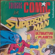 Tebeos: COLOSOS DEL COMIC.SUPERSONIC MAN Nº 6. VALENCIANA 1979. BUENO. Lote 235539845