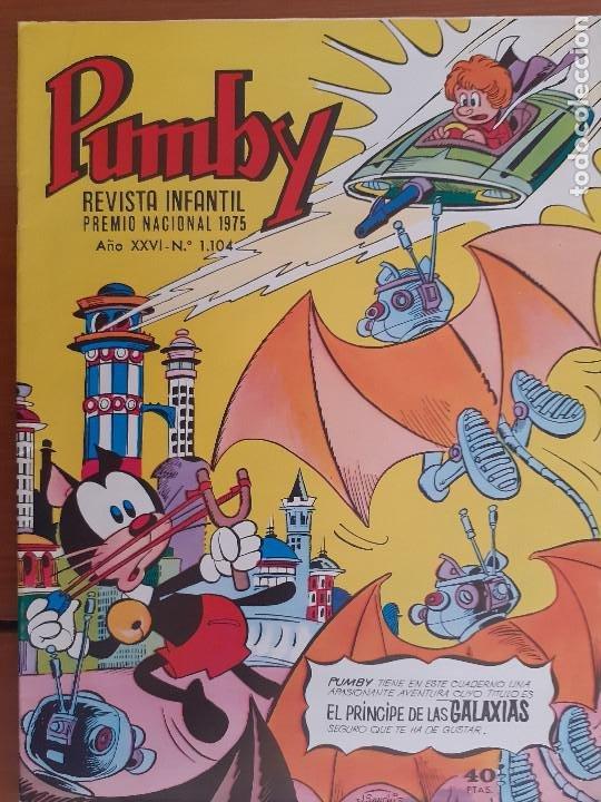 PUMBY Nº 1104. VALENCIANA 1979. BUENO (Tebeos y Comics - Valenciana - Pumby)