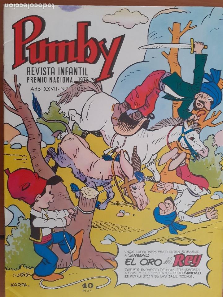PUMBY Nº 1105. VALENCIANA 1979. BUENO (Tebeos y Comics - Valenciana - Pumby)