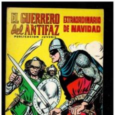 Tebeos: EL GUERRERO DEL ANTIFAZ. EXTRAORDINARIO DE NAVIDAD.1975. VALENCIANA.ORIGINAL.MUY BUENO.. Lote 235572245